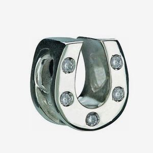 Chamilia retired horseshoe charm
